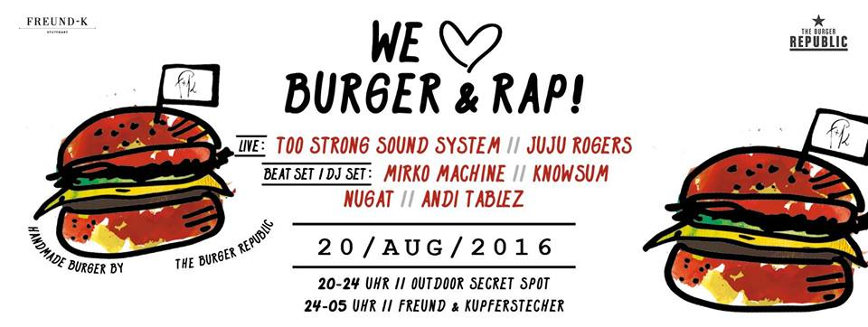 Freund Kupferstecher - We Love Burger Rap Vol. 3